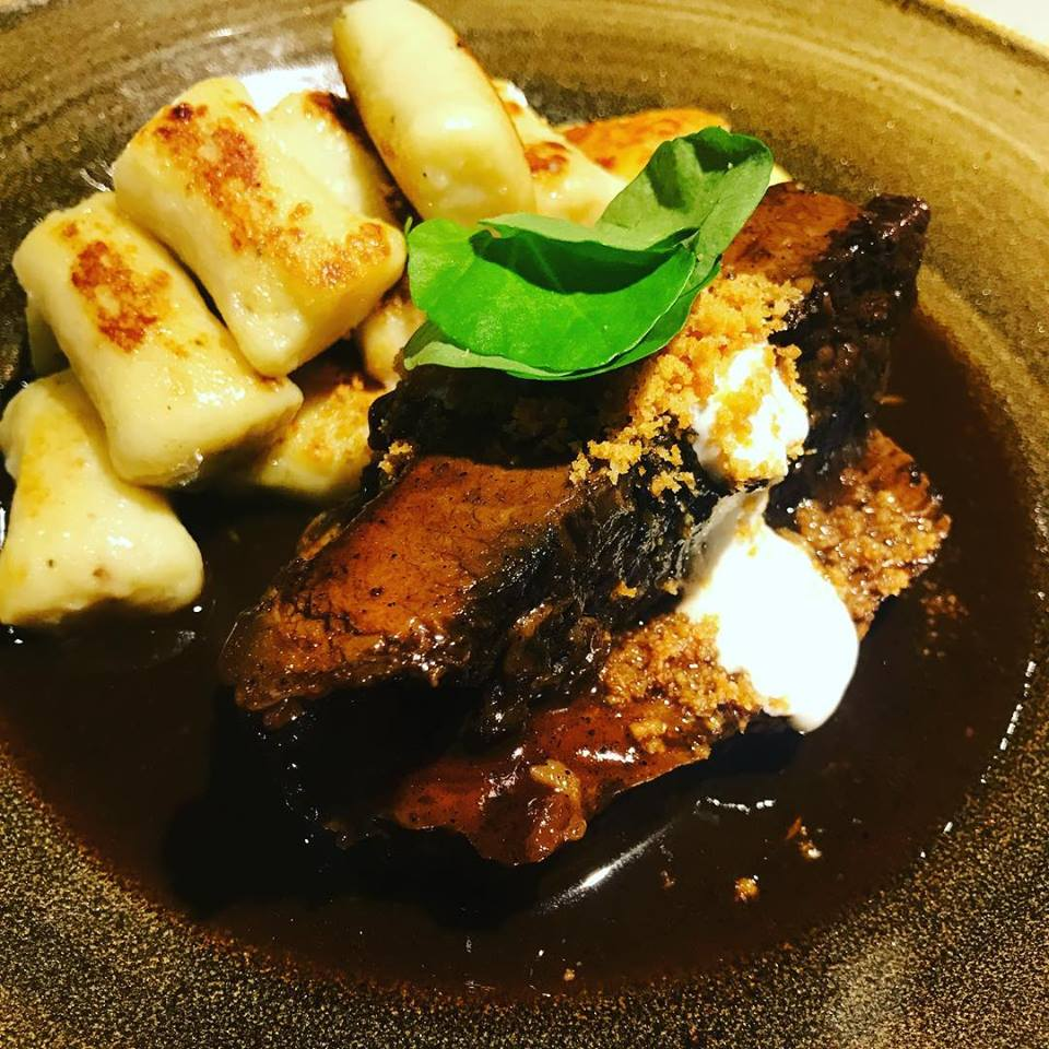 brisket with housemade gnocchi